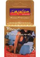 Impulse Condom Bare Pleasure Raised And Ribbed Lubricated 3...