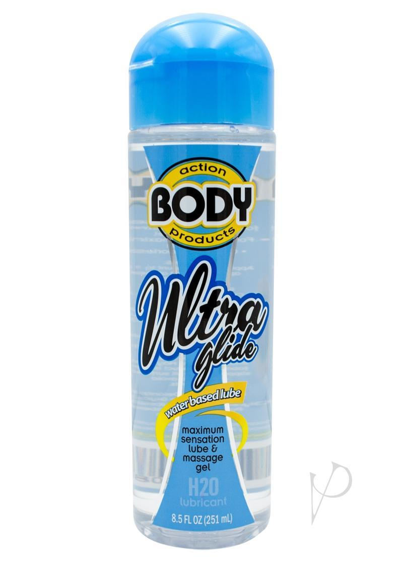 Body Action Ultra Glide Water Based Lubricant 8.5 Oz